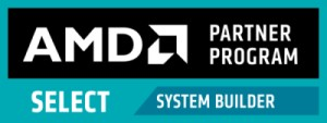AMD Partner Program Select SYSTEM BUILDER 300x113